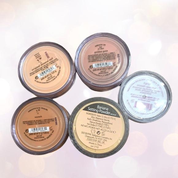 5 Pcs. bareMinerals BP & Tarte Makeup Bundle NWT